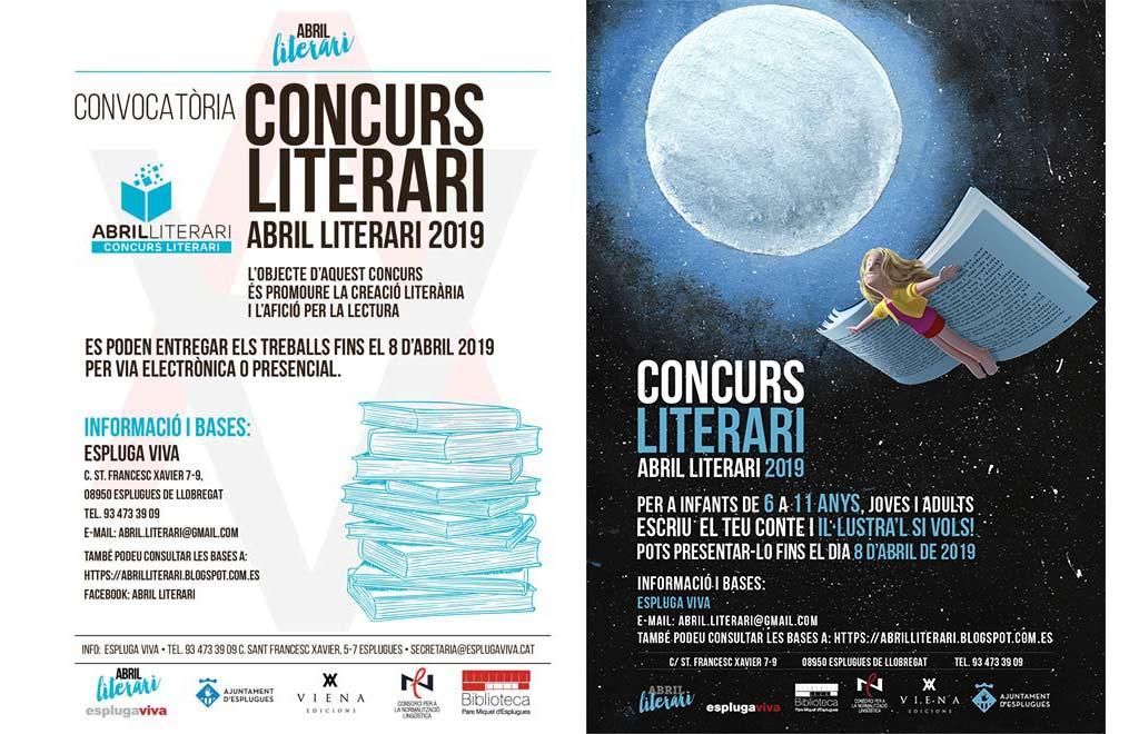 Convocatòria concurs Abril Literari 2019