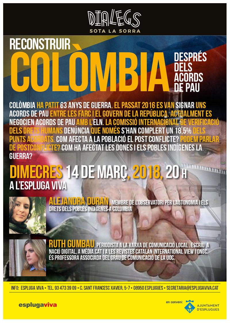 DIALEGS 2018_marc_Reconstruir Colòmbia