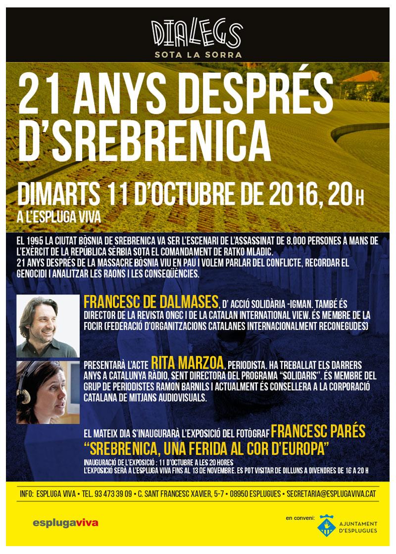 DIALEGS 2016_octubre_Srebrenica-21anys