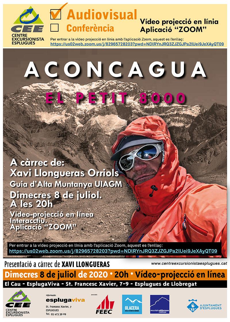 ACONCAGUA, EL PETIT 8000 -Audiovisual CEE juliol2020