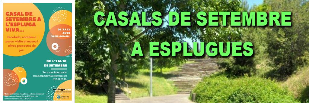 CASALS DE SETEMBRE A ESPLUGUES