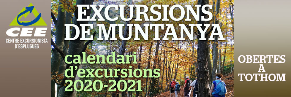CEE-CALENDARI EXCURSIONS 2020-21