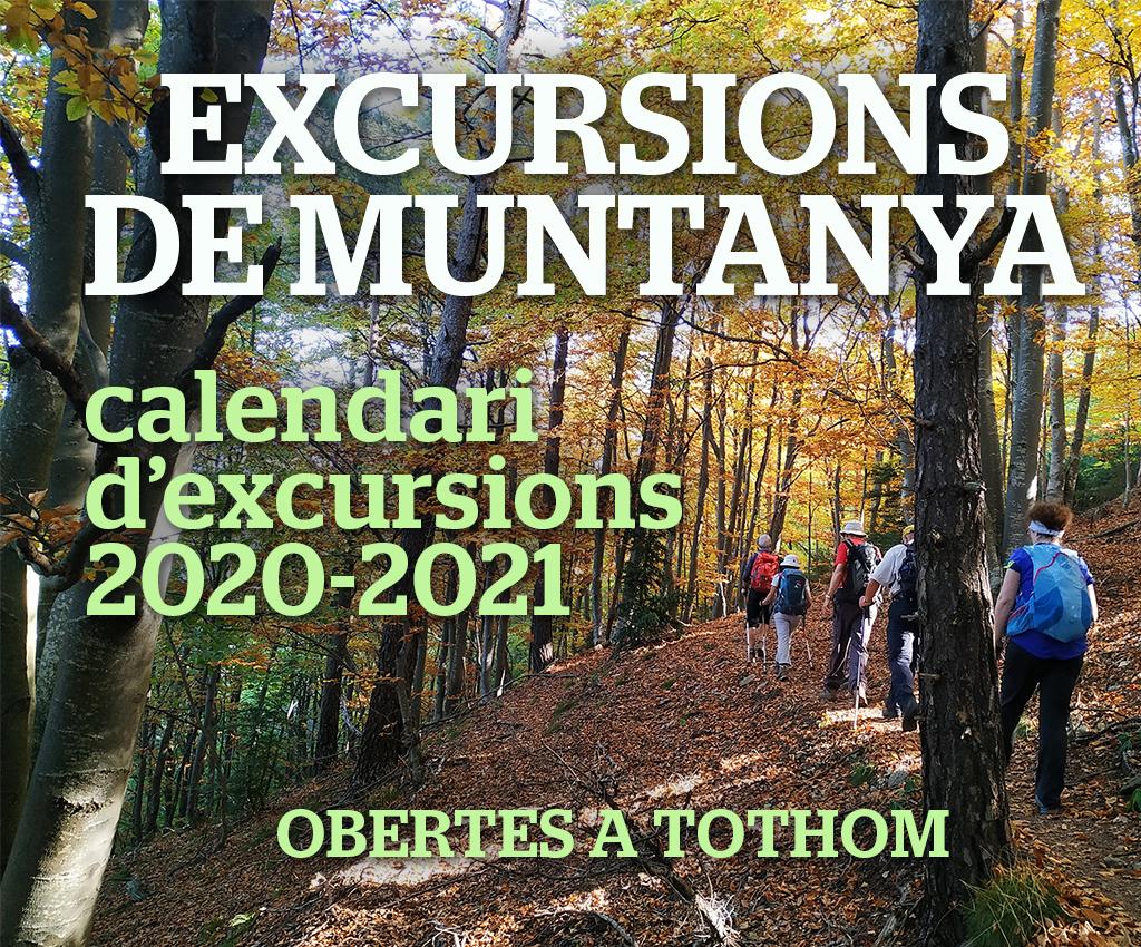 CEE-CALENDARI EXCURSIONS 2020-21