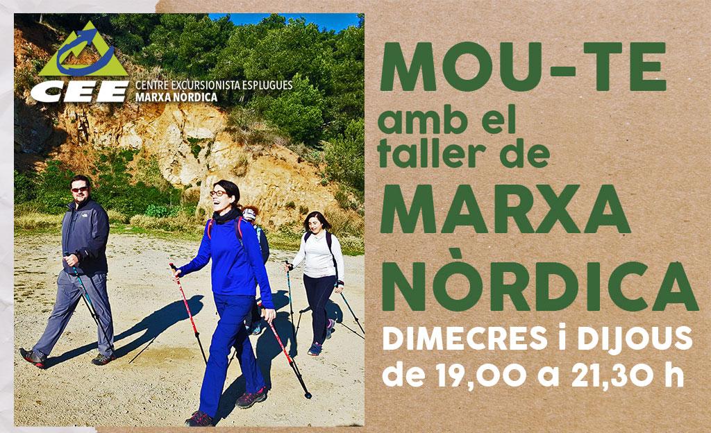 MOU-TE amb la MARXA NÒRDICA