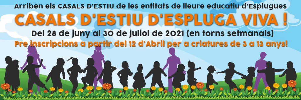 CASALS ESTIU 2021_ESPLUGUES