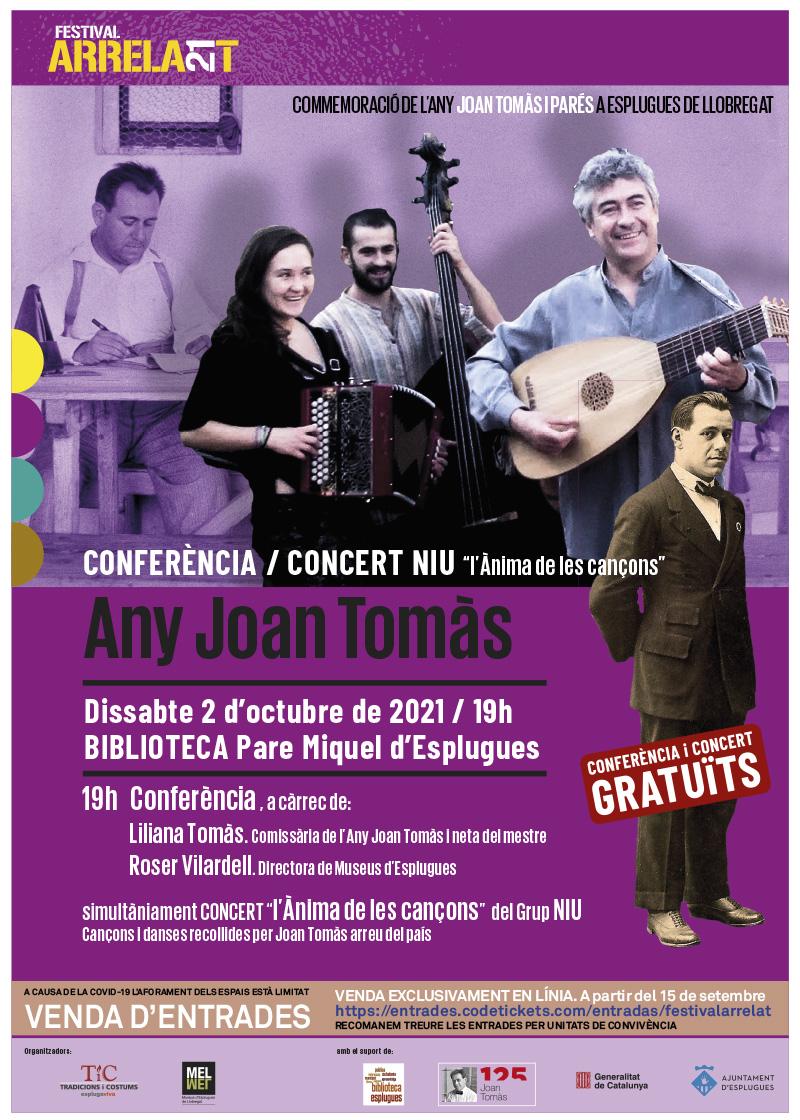 FESTIVAL ARRELA'T 21_cartell_CONFECONCERT-TOMAS