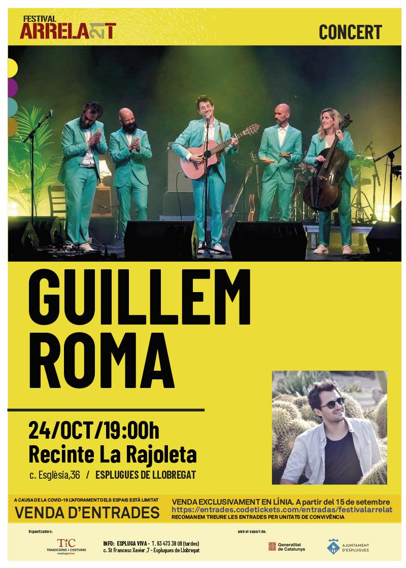 FESTIVAL ARRELA'T 21_cartell_GUILLEMROMA