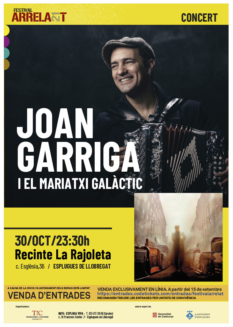 FESTIVAL ARRELA'T 21_cartell_JOAN GARRIGA