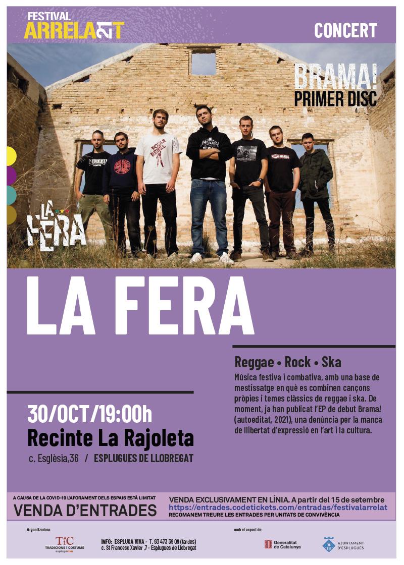 FESTIVAL ARRELA'T 21_cartell_LAFERA