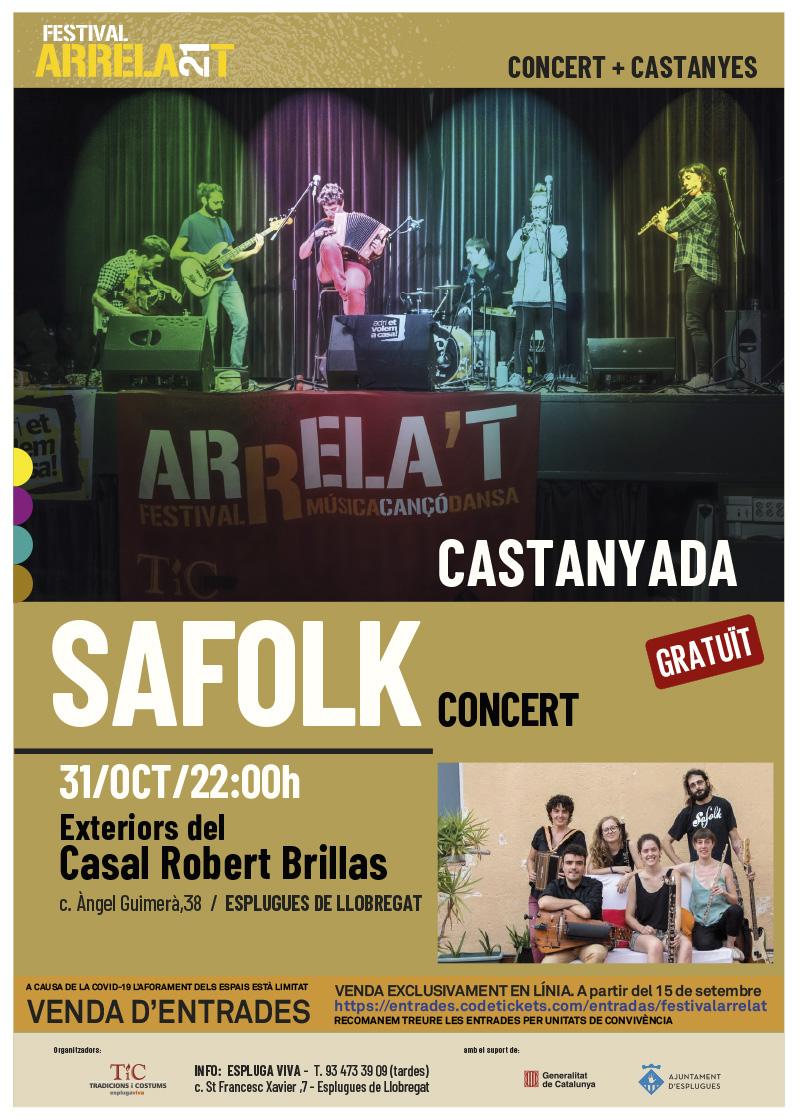 FESTIVAL ARRELA'T 21_cartell_SAFOLK-CASTANYADA